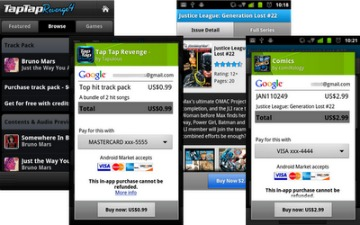 Android 3.0 in-app purchase