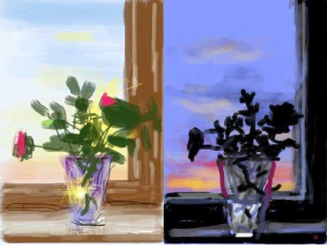 David Hockney-iPad