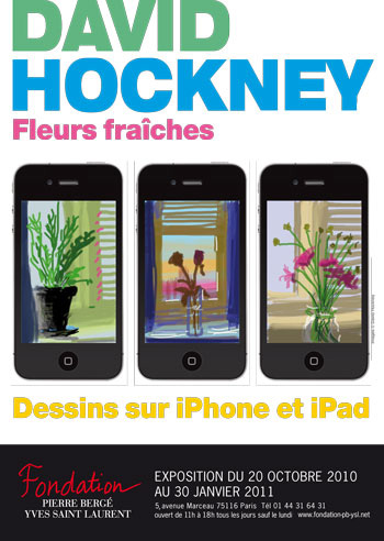 Drawing on iPhone and iPaad-david hockney