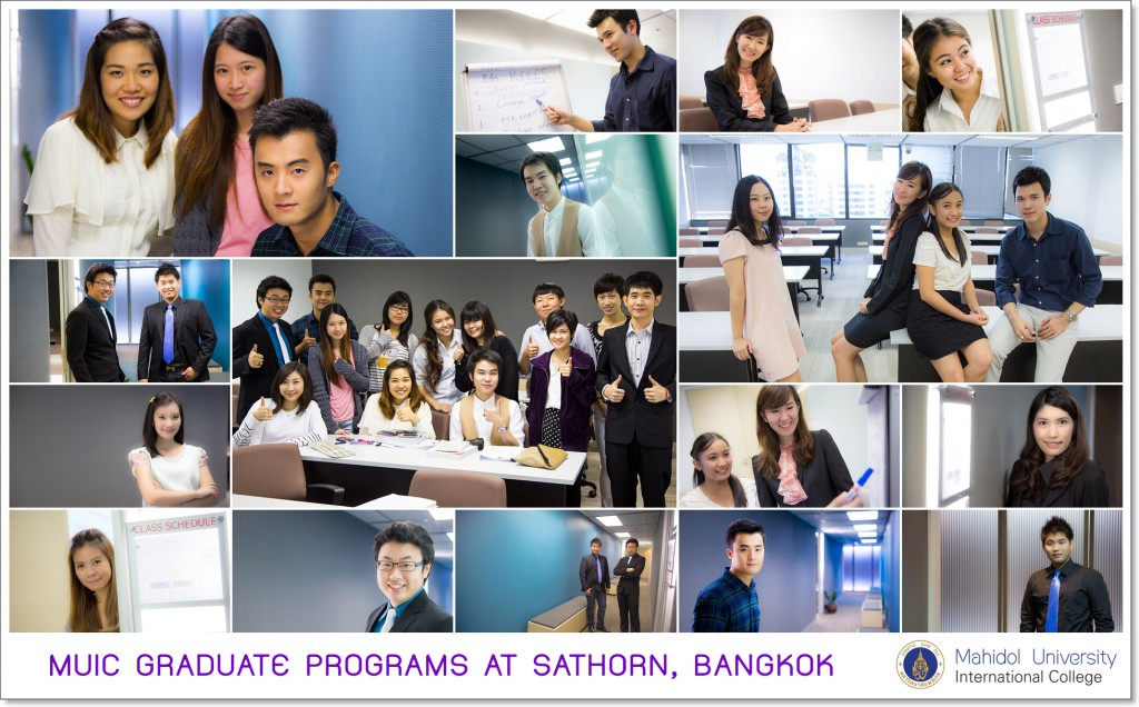 MAHIDOL UNIVERSITY INTERNATIONAL COLLEGE GRADUTE PROGRAM AT SATHORN