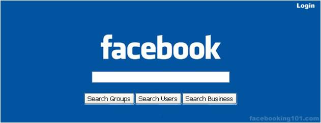 Search Terms Facebook