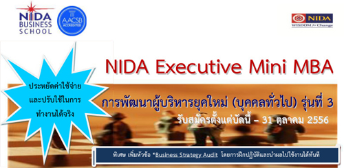 Nida Executive Mini MBA