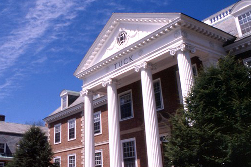 the Tuck School of Business at Dartmouth