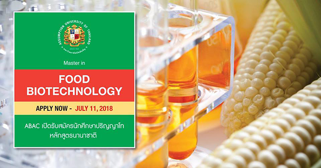 FOOD BIOTECHNOLOGY (Masster)