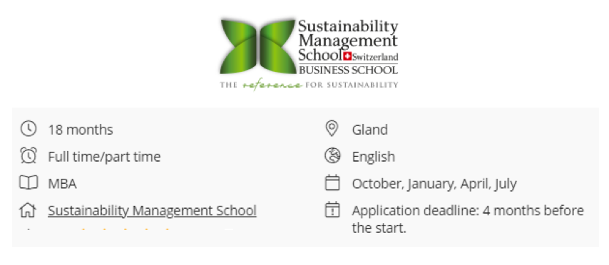 Online MBA in Sustainable Hospitality Management